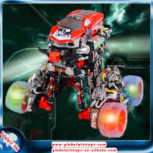 2015 rc car type toy! 12 function space car with LED,remote control stunt car GW-T666-361