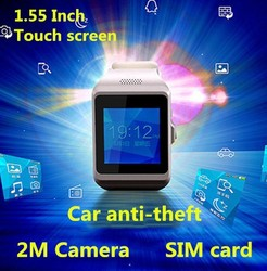 high quality branded watch with FM Car anti-theft bluetooth smart touch screen brand watch