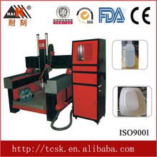 Guangdong famous brand naik technological 3d sculpture, cnc router stone engraving machine