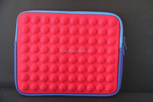 shockproof/water resistance Neoprene laptop/tablet sleeve with padding