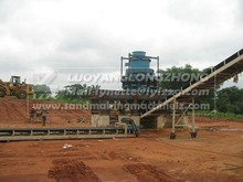 Complete crushing line with feeder,crusher,screen 200tph capacity