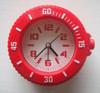 new design desktop watch shape alarm clock 2015