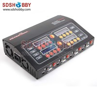 Ultra Power Charger 100W 10A 4-Channel Output / High Power Supply UP100AC QUAD / Lipo Battery Charger Support AC/DC Input