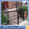 Durable and Anti-rust 1.5m* 2.4m wrought iron fence for garden steel fence posts for sale