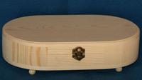 New design custom natural pine wood urn