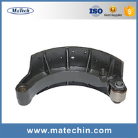 Professional Custom Precisely Grey Cast Iron Fc250 Brake Shoes