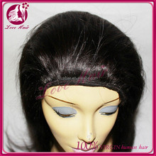 Jewish wig band fall made with European hair -approval from the Rabi