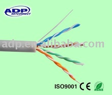 CAT5E UTP/FTP LAN Cable/NETWORKING CABLE (CE,ISO,ROSH)PASSED FLUKE 4300TEST