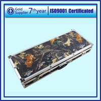 Aluminium Camouflage Gun Case for Military Hunting And With Combination Lock