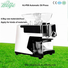 HJ-P09 high oil press rate cold press for nut oil extraction