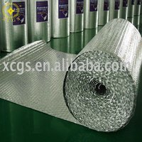 temporary wall material/ tempshield double bubble foil insulation