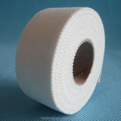 Zinc oxide tape adhesive sport tape with serrated edge 5cm*5m sport tape cotton,sport tape