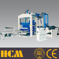 German technology QTY10-15C Haicheng building cement bamboo pallet brick machine block machine for sale