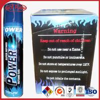5X Super Refined Butane Gas/5x refined gas/ FCL barbecue butane gas torch 300ml