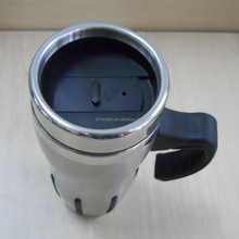 2015 Food Grade Stainless Steel Interior Non-toxic,, 450ml Double Wall Travel Mug Available Customize Logo And Color
