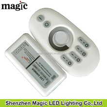 12V<96W 24V<192W 2channel 4A/CH one remote can controlled seperatly 4 group 2.4G 4 zone Touch LED dimmer