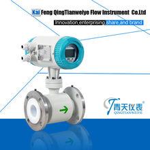smart water price magnetic flow meter