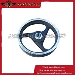KINGMOTO 20150714 motorcycle forged aluminum alloy wheel, motorcycle wheel rim for dirt bike spoke