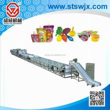 SW-BSSJ automatic plastic jelly filling machine, fruit jelly cup sealing machine, yoghurt filling machine