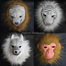 Wholesale EVA halloween Mask for anubis (lion /wolf /tiger /monkey ) EVA foam animal mask