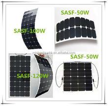Sunpower semi flexible solar panel 100W