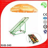 Top sale and best price wooden vegetable&fruit display rack/shelf