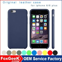 2015 new Luxury case for iphone 6 with high quality PU leather ,original leather case for iphone 6s
