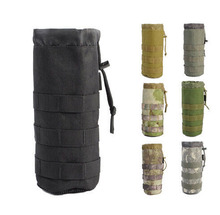 Hiking Outdoor Military Water Bottle Pouch Bag Carrier Holder