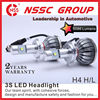 NSSC H4 9004 9007 H13 Hi Lo Beam CREE High Power LED Headlight motorcycle