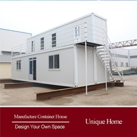 fireproofed timber framed dubai container villa