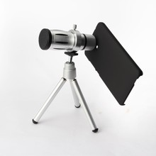 Telescope 12X/8X Zoom Telephoto Camera Lens With Mini Tripod for Mobile Phone