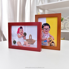 Solid baby wood photo frame wonderful gift for baby