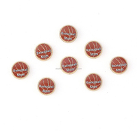 2015 basketball floating charms wholesale for locket pendant