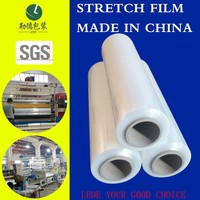 Professional and Trustworthy Soft Hardness Stretch Film transparency plastic film