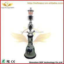 hookah stands all glass narghille chenlong aluminum foil egypy style glass hookah vase