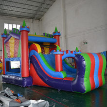Popular most popular amusement park inflatable combo games
