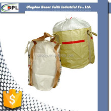 pp woven container bag FIBC 1 ton 2 tons for rice, inner corner ton bag for rice