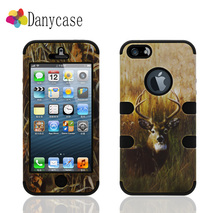 platic+silicone heavy duty phone case unique goods from china that called Water Decals case cover For i phone 5/5s/5g