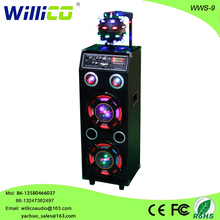 Hot sale powerful DJ music speaker with magic Disco ball wws-9