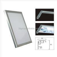 LED clip frame slim light boxes Germany Plexiglas+Osram LED+meanwell driver