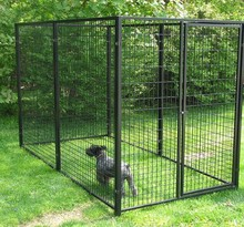 2015 new design high quality metal outdoor large dog fences