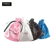 Custom Jewelry Satin Bag in Packaging bag