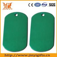 Promotion wholesale anodic aluminum oxide dog tag