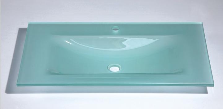 Encimeras de cristal para lavabos lavabos vidrio diseo - Encimeras de cristal ...