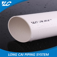 Damp Proof Smooth Surface Large Diameter Plastic Drain Pipe