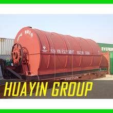 Green energy used tire recycling plant
