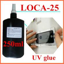 250ml LOCA UV adhesive LOCA25 liquid optical clear glue repair for lcd touch screen digitizer glass bonding