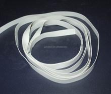 Naturale elastico nastro in gomma per costumi da bagno/biancheria intima