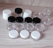 PS cream jars 2.5g 3g 5g 7g 10g