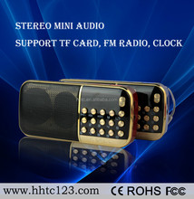 Hot Selling Mini Protable Outdoor Sport Speaker FM radio, computer /MP3 speaker(B830)